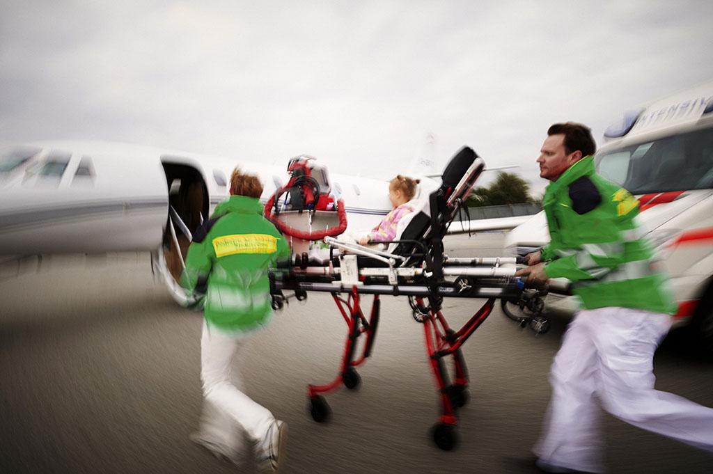about pediatric air ambulance