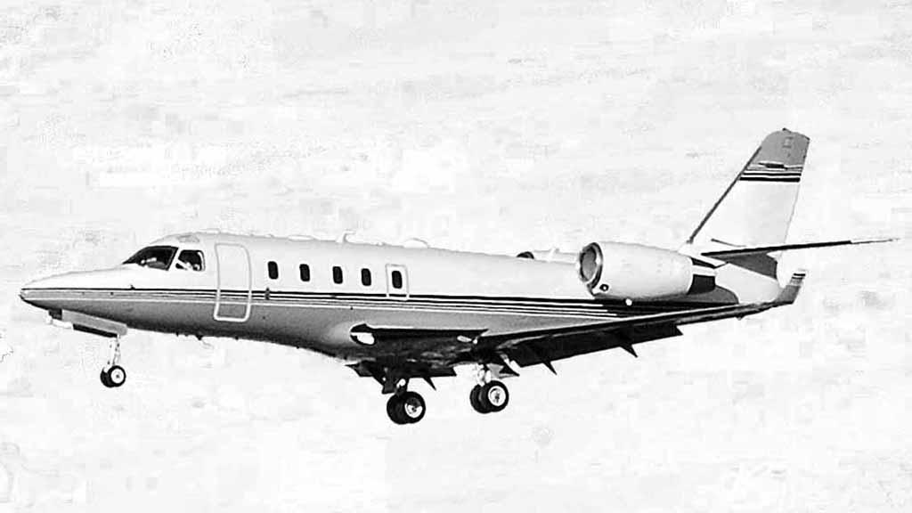 Gulfstream 100 mit einer Reichweite von bis zu 5.000 Kilometern und Platz für zwei Intensivpatienten
