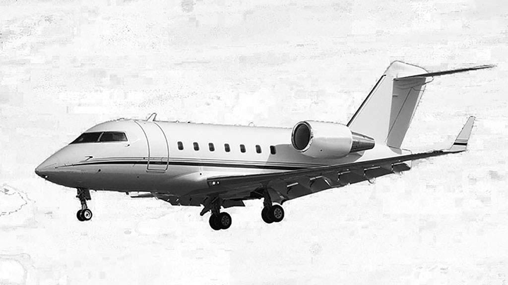 Challenger 604 mit einer Reichweite von bis zu 6.850 Kilometern und Platz für zwei Intensivpatienten