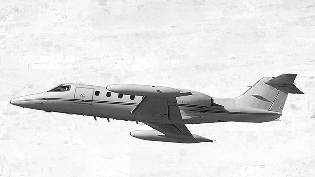 Learjet 35A mit einer Reichweite von bis zu 4.100 Kilometern und Platz für einen Intensivpatienten